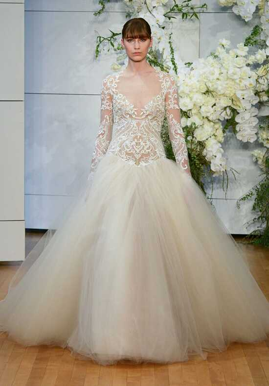 Monique Lhuillier Marguerite Ball Gown Wedding Dress