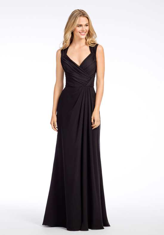 Hayley Paige Occasions 5669 V-Neck Bridesmaid Dress