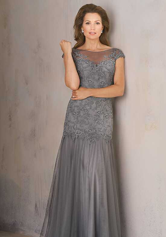 Jade Couture K208006 Silver Mother Of The Bride Dress