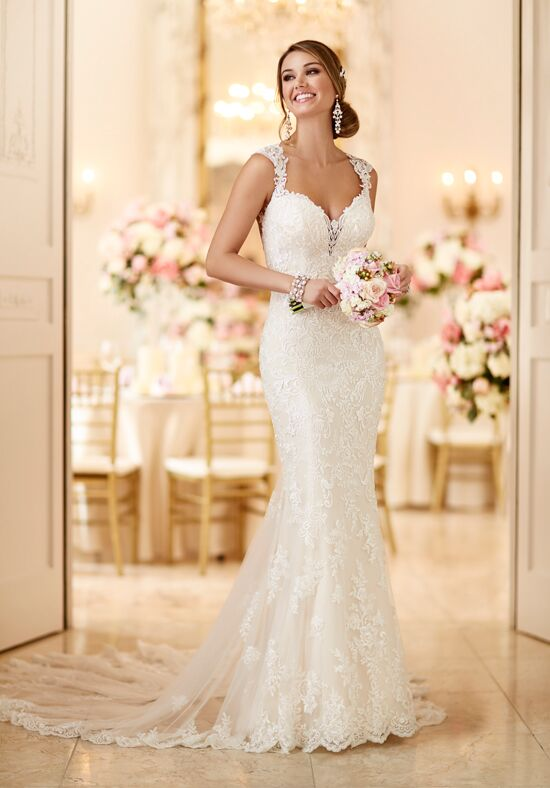 Stella York 6245 Sheath Wedding Dress