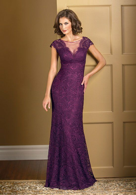 Jade Couture K178011 Purple Mother Of The Bride Dress