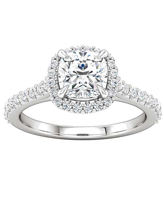ever&ever Classic Cushion Cut Engagement Ring