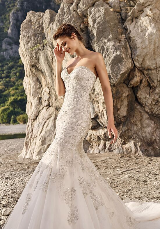 Eddy K Majorca Mermaid Wedding Dress