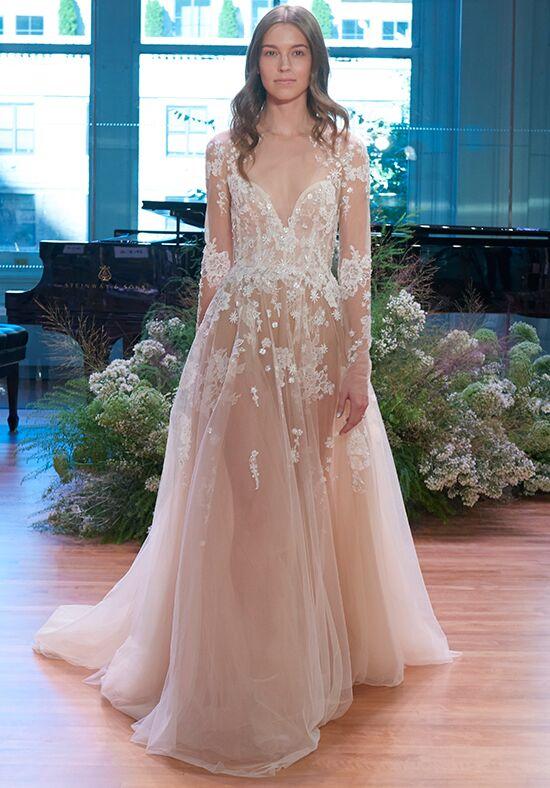 Monique Lhuillier Sunday Rose Wedding Dress - The Knot