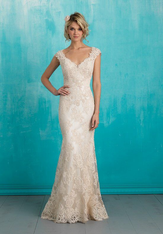 Allure Bridals 9313 Sheath Wedding Dress
