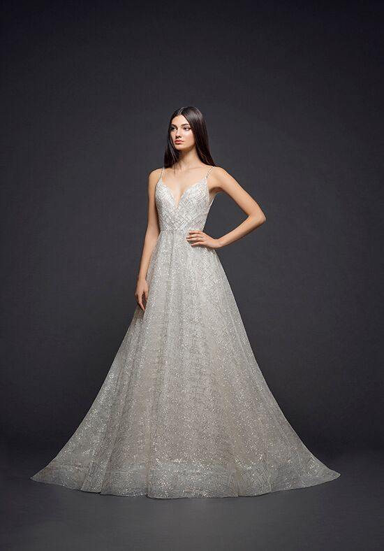 Lazaro 3814 A-Line Wedding Dress