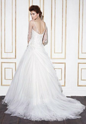 Gerald C Wedding Dresses : Blue by enzoani geraldton wedding dress the knot