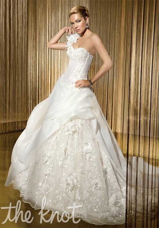 Demetrios 516 Ball Gown Wedding Dress