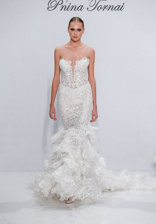 Pnina tornai for kleinfeld 4273 wedding dress the knot for Pnina tornai wedding dresses prices