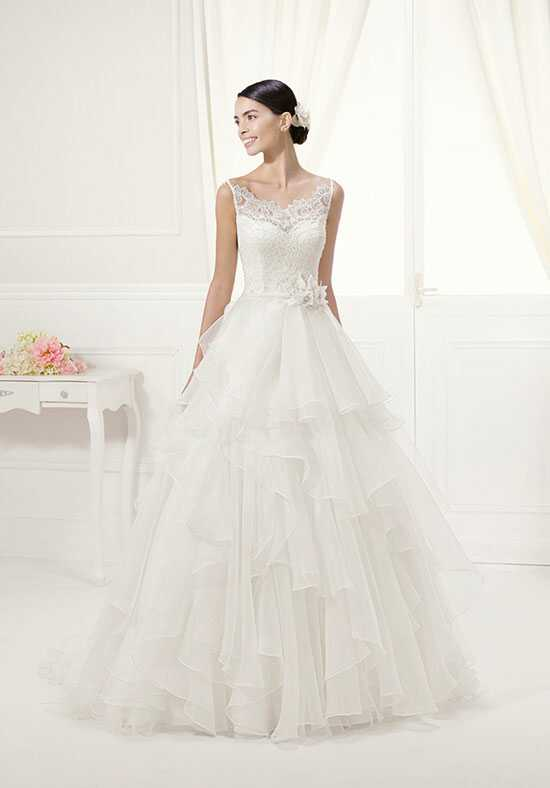 Alma Novia FLOR Ball Gown Wedding Dress