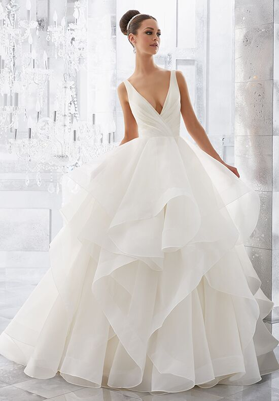 Morilee by Madeline Gardner/Blu Milly | 5577 Ball Gown Wedding Dress