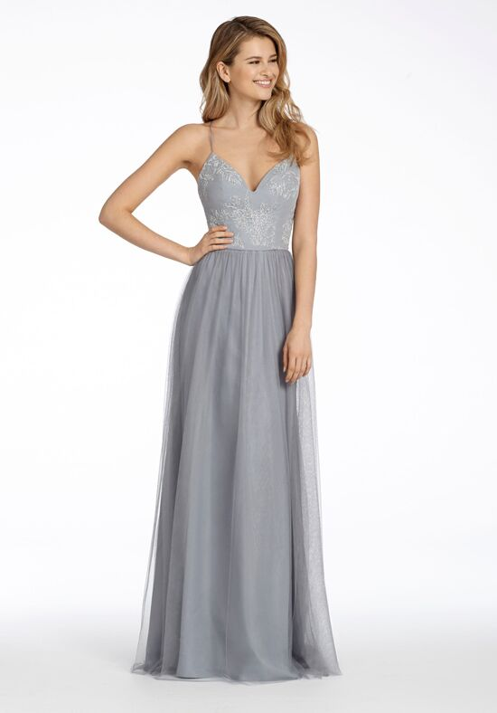 Hayley Paige Occasions 5716 V-Neck Bridesmaid Dress