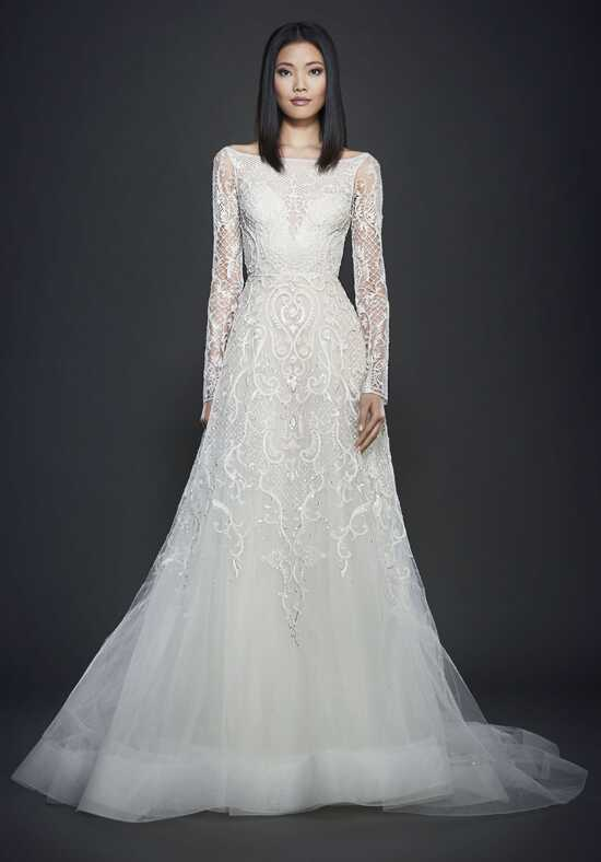 Lazaro 3709 A-Line Wedding Dress