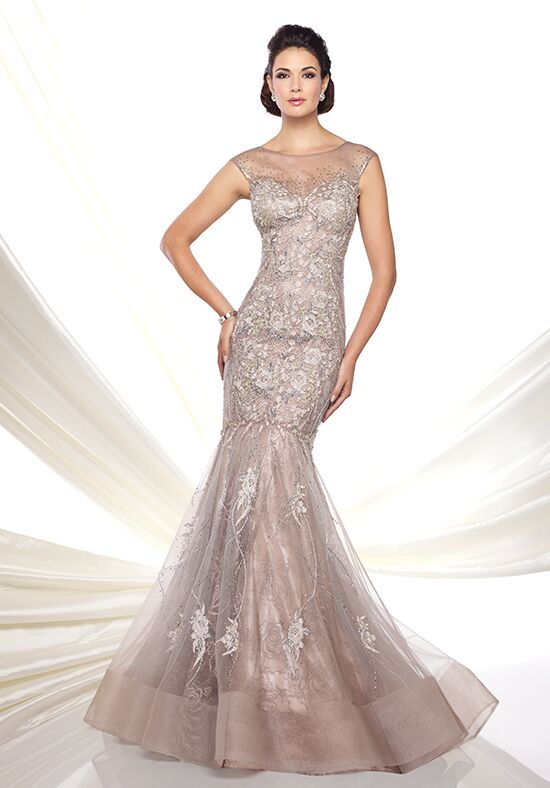 Ivonne D. 116D25 Silver Mother Of The Bride Dress