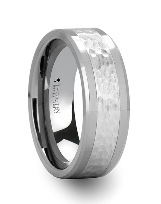 Mens Tungsten Wedding Bands W675-HFC Tungsten Wedding Ring