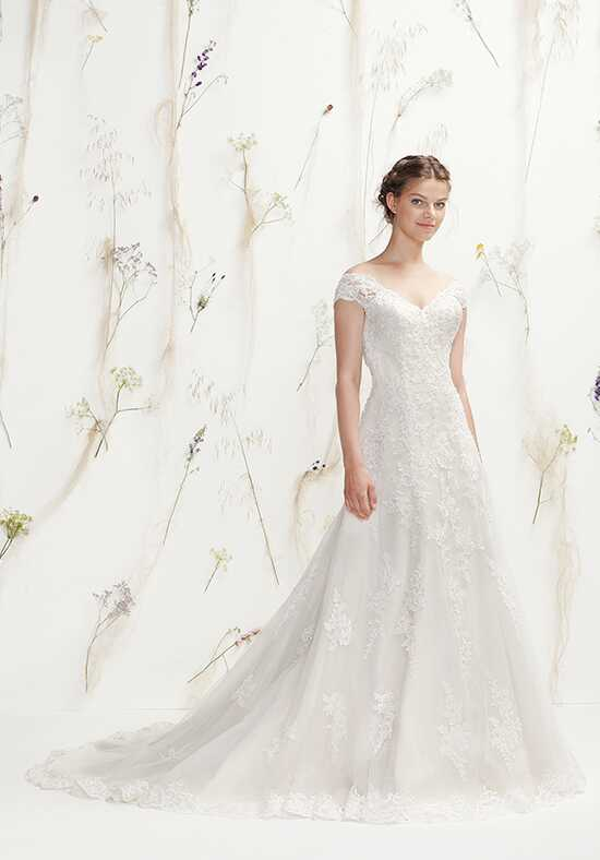Lillian West 6408 A-Line Wedding Dress