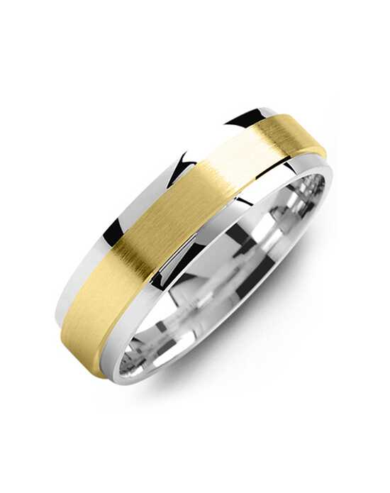 MADANI Rings MOJ814WY Gold, White Gold Wedding Ring