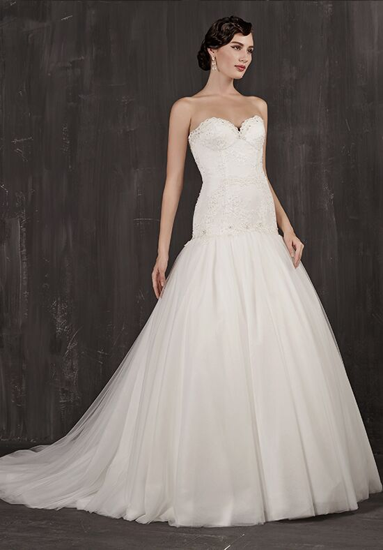 Calla Blanche 16124 Iris A-Line Wedding Dress