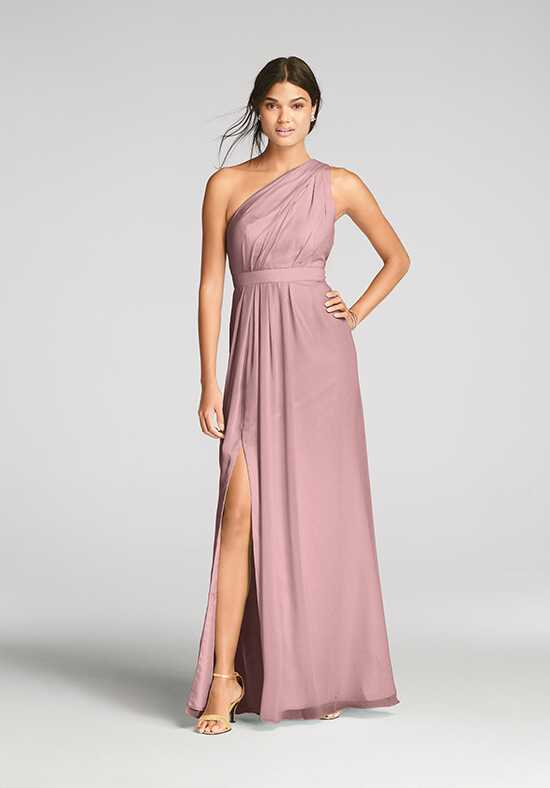 David's Bridal Collection David's Bridal Style F18055 One Shoulder Bridesmaid Dress