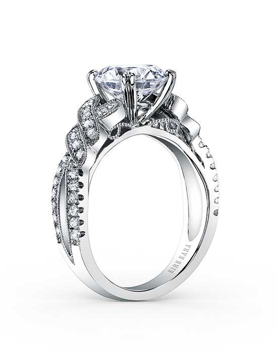 Kirk Kara Pirouetta Collection K1330DG-R Engagement Ring photo