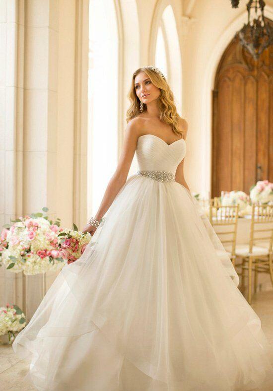 Stella York 5859 Ball Gown Wedding Dress