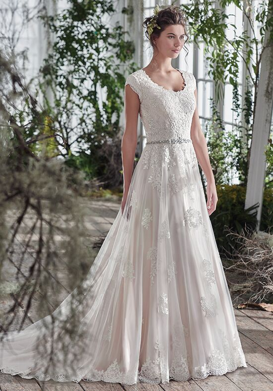 Maggie Sottero Shannon A-Line Wedding Dress