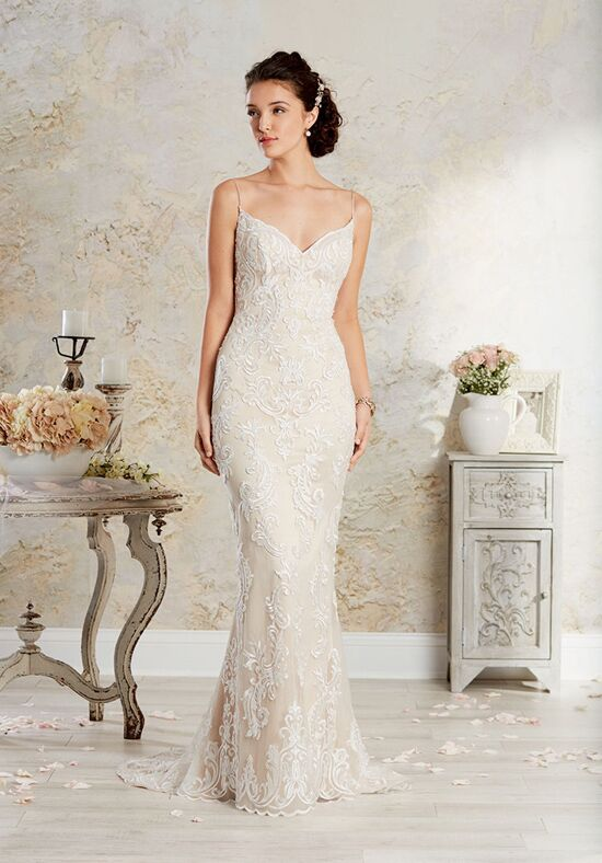 Alfred Angelo Modern Vintage Bridal Collection 8566 Sheath Wedding Dress