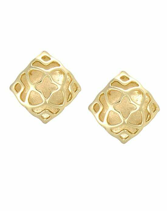 Kendra Scott Tima Stud Earrings in Gold Wedding Earring photo