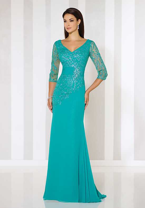 Cameron Blake 116651 Green Mother Of The Bride Dress