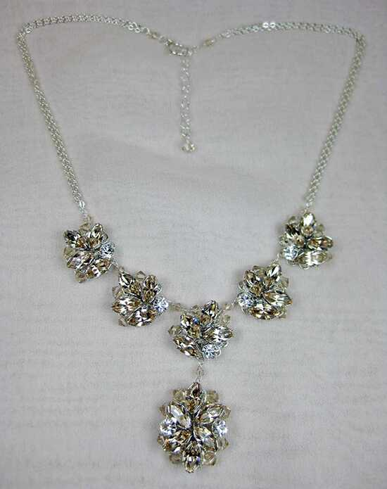 Everything Angelic Alek Necklace - n329 Lt Silk Wedding Necklace photo
