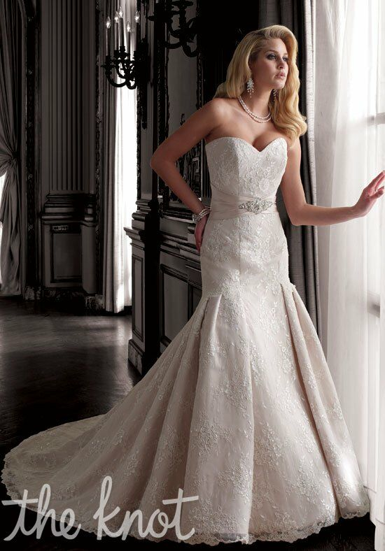 David Tutera for Mon Cheri 211244 Norma Mermaid Wedding Dress