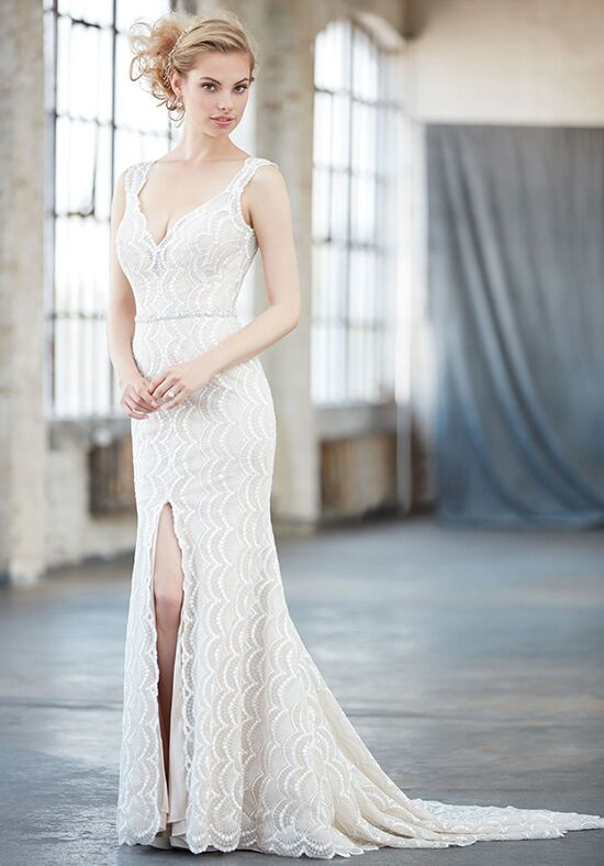 Madison James MJ303 Sheath Wedding Dress