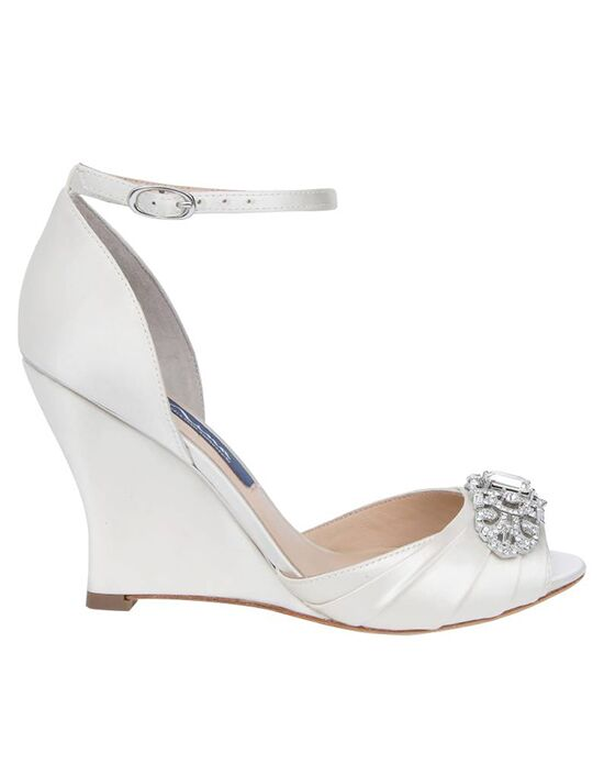 Nina Bridal Wedding Accessories Edyth-Ivory Ivory Shoe