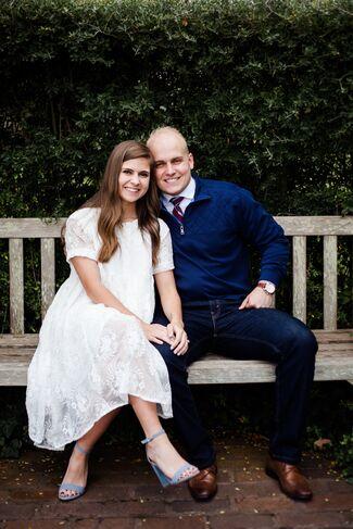 Rachel Gamble And Riley Young Wedding Photo 1