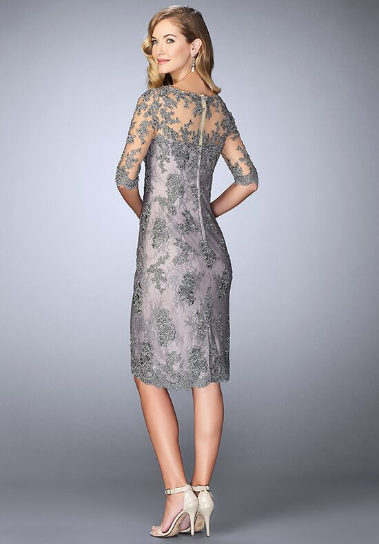 La Femme Evening 24878 Grey Mother Of The Bride Dress