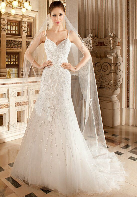 Demetrios 578 A-Line Wedding Dress