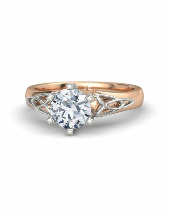 Gemvara Customized Engagement Rings Fiona Ring Rose Gold Wedding