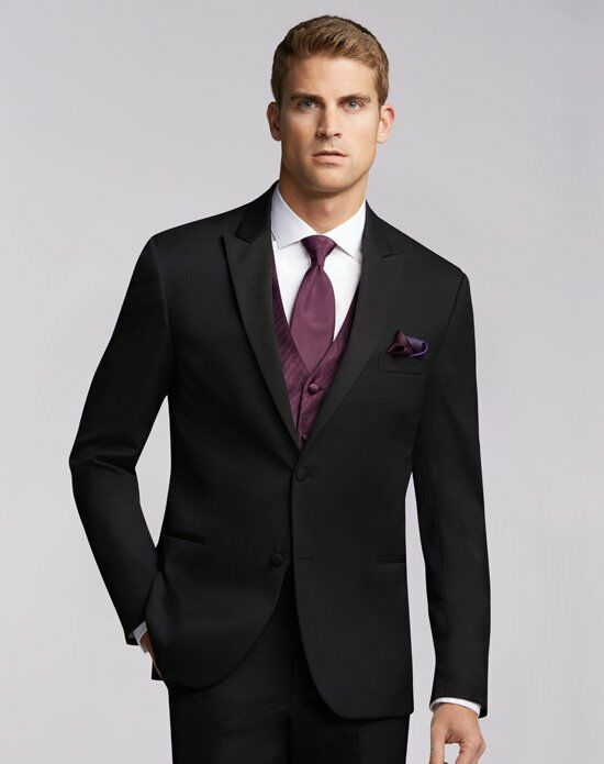 Men's Wearhouse Joseph Abboud® Black Tuxedo Black Tuxedo