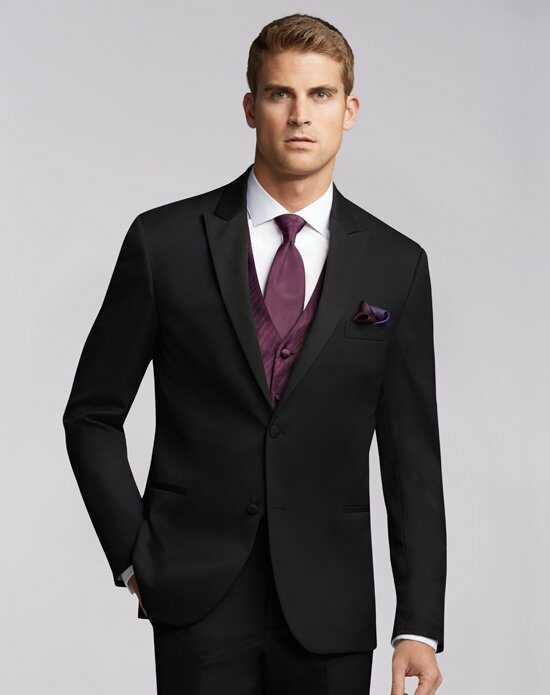 Men's Wearhouse Joseph Abboud® Black Tuxedo Wedding Tuxedos + Suit photo