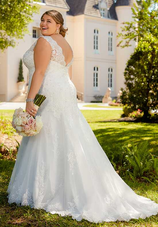 Stella York 6525 Mermaid Wedding Dress