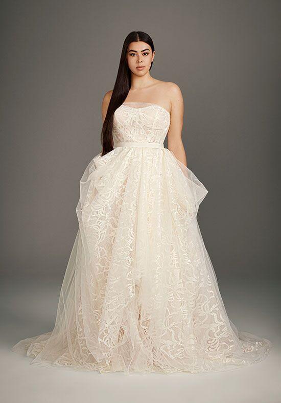 White By Vera Wang Vera Wang Style 8vw351487 Wedding Dress The Knot
