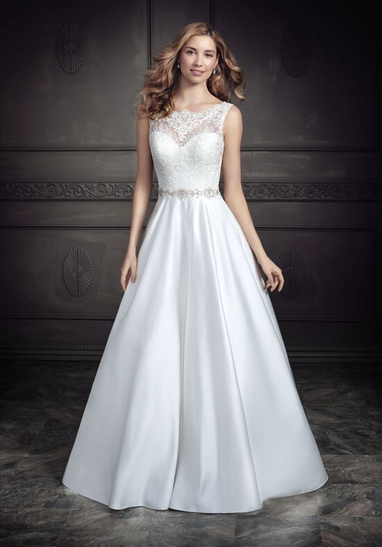 Kenneth Winston: Ella Rosa Collection BE339 A-Line Wedding Dress