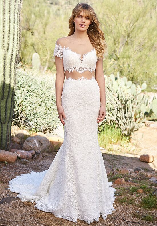 Lillian West 6519 Mermaid Wedding Dress