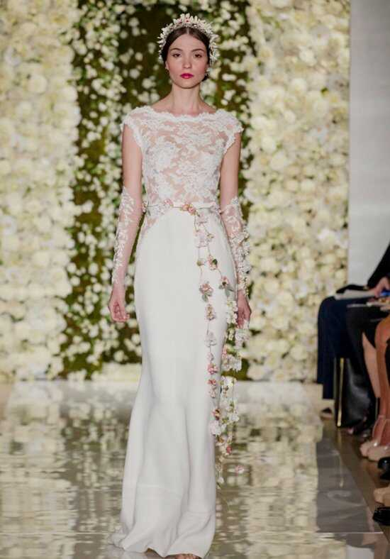 Reem Acra I'm Fabulous Mermaid Wedding Dress