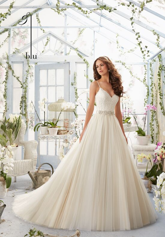 Morilee by Madeline Gardner/Blu 5416 Ball Gown Wedding Dress