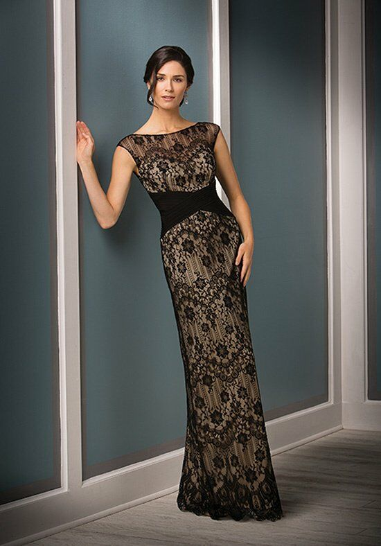 Jade Couture K188011 Black Mother Of The Bride Dress