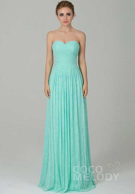 CocoMelody Bridesmaid Dresses COZK16013 Sweetheart Bridesmaid Dress