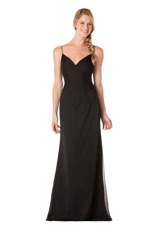 Bari Jay Bridesmaids 1737 V-Neck Bridesmaid Dress
