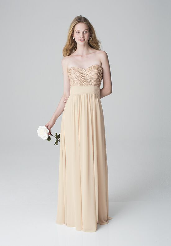 Bill Levkoff 1261 Strapless Bridesmaid Dress