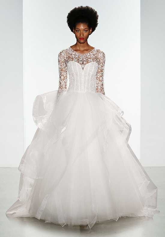 Kenneth Pool Carmen Ball Gown Wedding Dress